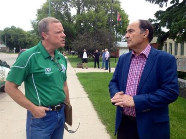 Brad Wall and Walter Streelasky skpic