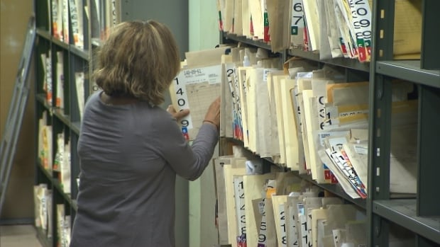 Patients' medical files at the MUHC will be packed next spring, in the days before the big move to the superhospital on April 26.