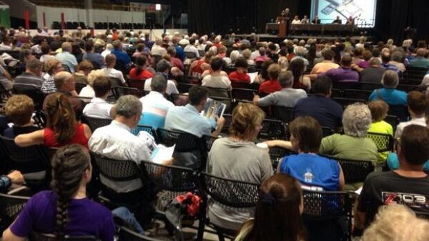 The Halifax Forum meeting drew up to 500 people.