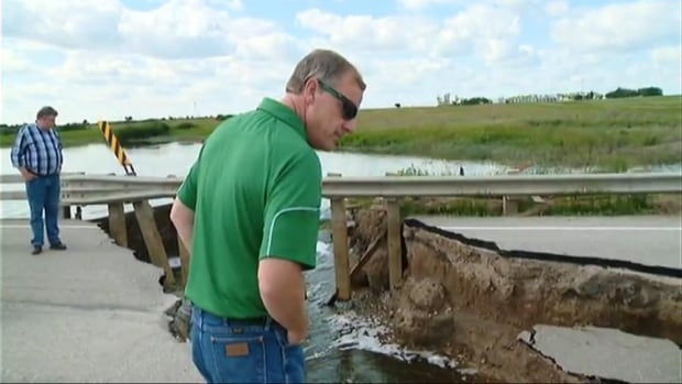 brad wall tours melville flood zone