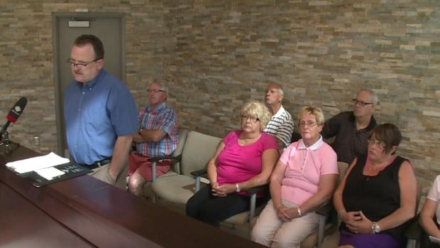 Nine residents attended Wednesday night's council meeting on Corner Brook to call for the relocation of a group home.
