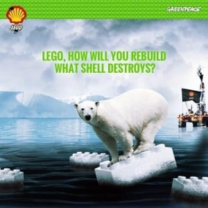 Greenpeace takes on Lego