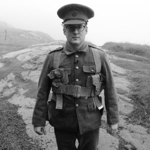 Adam Walsh in Newfoundland Regiment uniform