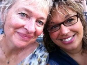 Jeanette Kelly and Ange-Aimée Woods