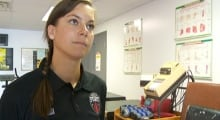 Mélanie Fiala, Ottawa Fury FC head athletic therapist