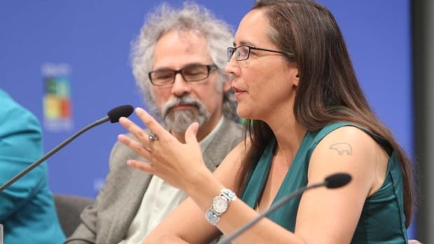 Lawyer Jonathan Rudin (l) oversees nine Gladue report writers with Aboriginal Legal Services Toronto. Katherine Hensel (r) says it's 'ironic' southern Ontario has more resources for Aboriginal offenders than the north. There is currently one Gladue report writer in Thunder Bay.