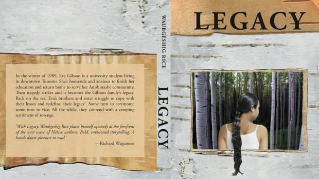 CBC journalist Waubgeshig Rice is the author of Legacy, to be release in July.