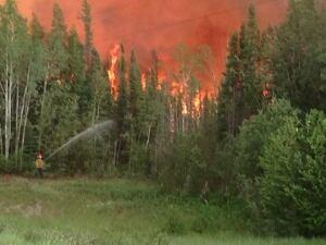 Kakisa fire July 3