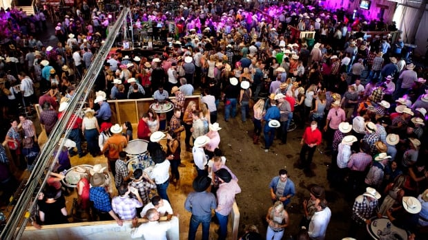 EMS officials say there is traditionally an increase in alcohol-related emergency calls during Stampede week in Calgary.