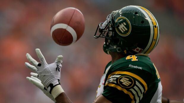 Edmonton's Adarius Bowman, shown in a pre-season game, is a threat when healthy.