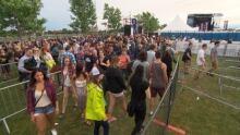 Ottawa Bluesfest Long Lines July 3