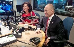 Bruce and Vicki Heyman at CBC