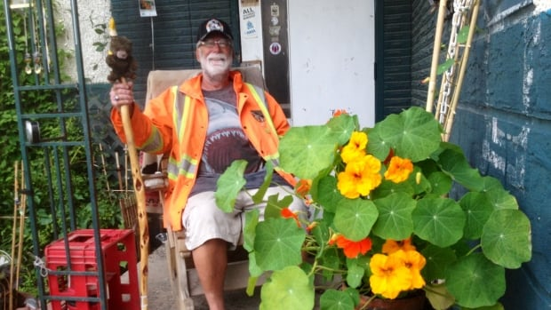 Dick Barr has been living in the Boyle Street neighbourhood for the past 47 years, tending to his lush garden every summer.