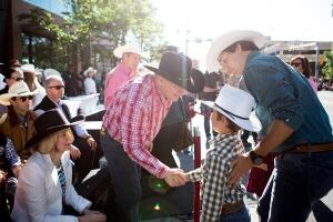 Harper-Trudeau Stampede