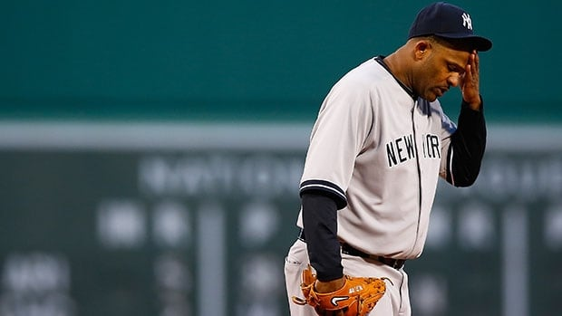 Six-time All-Star CC Sabathia has been out with a degenerative cartilage problem in his right knee since mid-May.