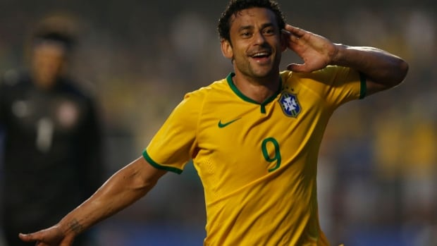 Brazil's Fred has been hearing it from fans: He's the team's worst player at the FIFA World Cup, according to a recent poll.