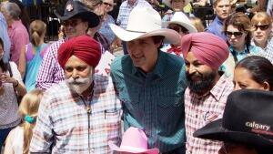 Trudeau Calgary Stampede