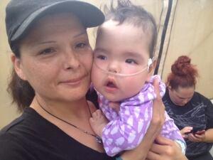 Josephine Ledoux and granddaughter Aurora