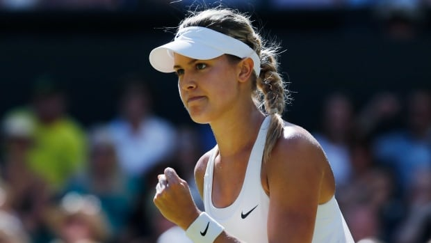Eugenie Bouchard is the only player on the women's or men's tour to reach at least the semifinals in all three majors this year.