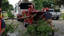 Cleaning up after Arthur