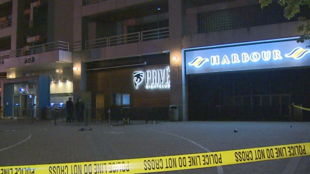 Vancouver police are investigating a stabbing outside the Prive night club on Pacific Boulevard around 3 a.m. PT Sunday that sent two men to hospital.