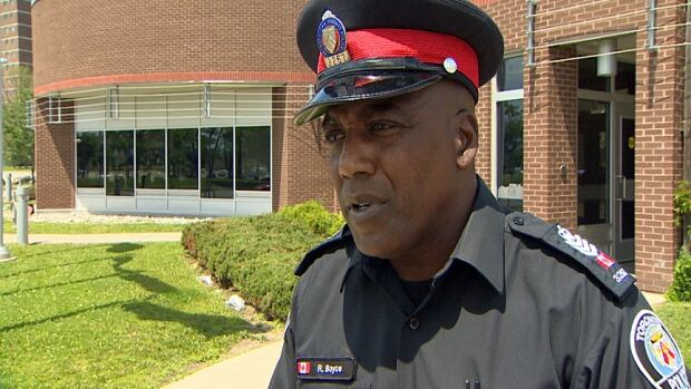 Toronto police Staff Sgt. Ron Boyce