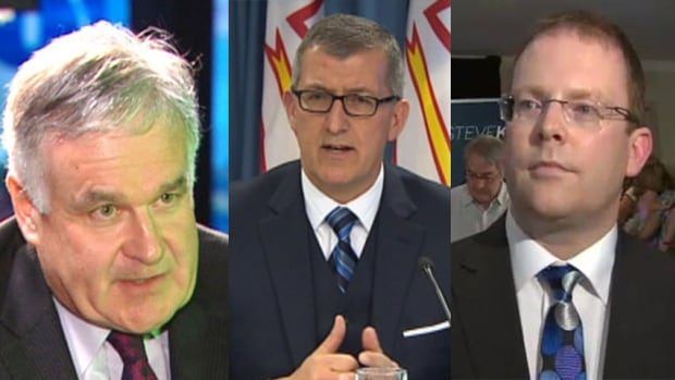 John Ottenheimer, Paul Davis and Steve Kent are competing for the PC leadership.