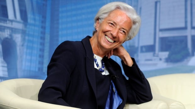 International Monetary Fund managing director Christine Lagarde, shown July 2 in Washington, has said world growth may not meet IMF targets this year.