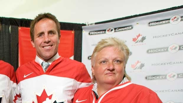 Doug Lidster, seen as part of Melody Davidson's staff for the Canadian women's hockey team in 2008, has coached at various levels of hockey.