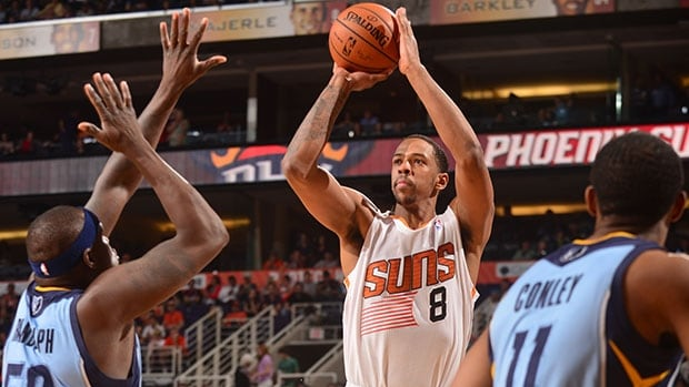 Channing Frye (8) averaged 11.1 points, 5.1 rebounds, 1.2 assists and 28.2 minutes in 82 starts for the Suns this past season.