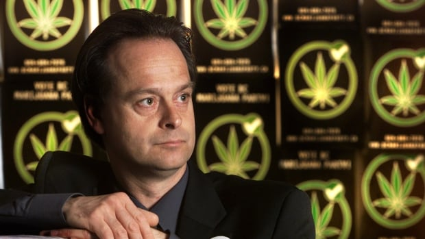 Marc Emery, seen here when he was Marijuana Party president and candidate in the 2001 B.C. election, has actively supported at least six different political parties. That now includes the Liberal Party, because of Justin Trudeau's call for pot legalization.