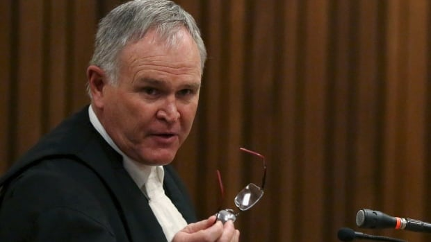 Oscar Pistorius' attorney Barry Roux closed his team's case Tuesday. Final arguments will be heard in the Pretoria courtroom in August.