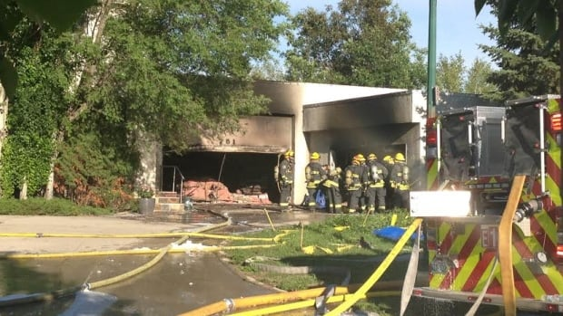 The cause of a million-dollar fire in Winnipeg's Tuxedo neighbourhood is believed to have been accidental.