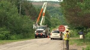 Kingston Peninsula power outage