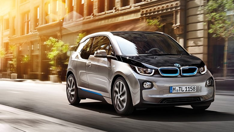 Bmw Canada Electric Car Comes With Solar Panel Discount Cbc News