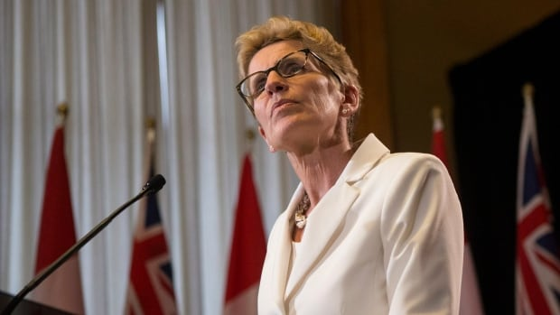 Premier Kathleen Wynne says it's too soon to say exactly how a series of proposed provincial asset sales will be handled.