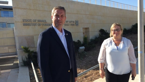 Liberal MPs Gerry Byrne and Yvonne Jones are part of a Canadian delegation that is in Israel this week. On Tuesday night, they had to take cover in a tomb after sirens sounded warning of a rocket attack.