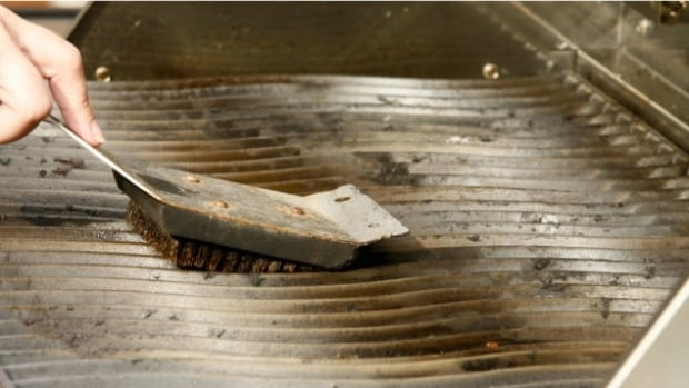 Worn barbecue brushes should not be used, and grill surfaces should be inspected before use, says the American Brush Manufacturers' Association.