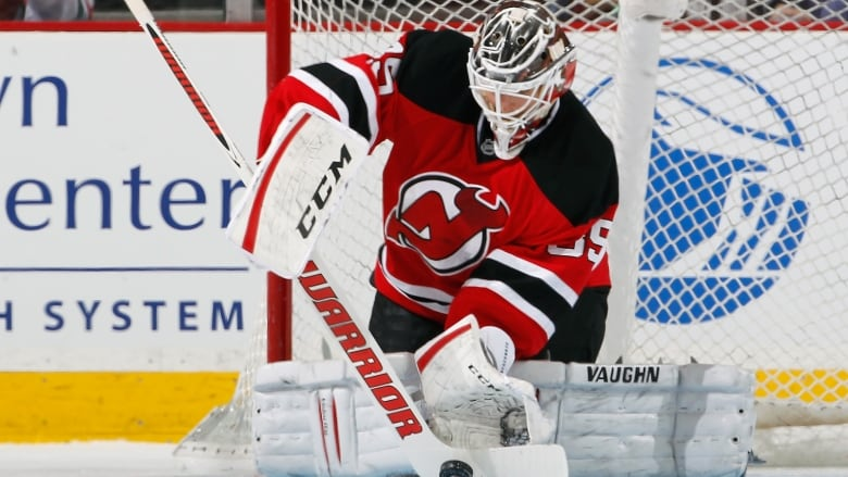 pretty nice 7cb10 6419d Cory Schneider signs 7-year extension with Devils   CBC Sports