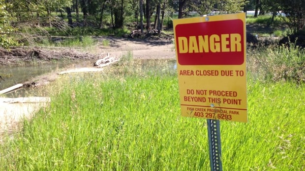 More than half of the pathways in Fish Creek Provincial Park were impacted in some way after last year's flood. Three bridges were also heavily damaged.