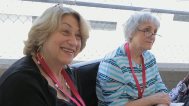 "Grandmothers and Startup Festival judges Sonia Hazan (left) and Evelin Matlin (right) are looking for entrepreneurial pitches that ""even a grandmother could understand."""