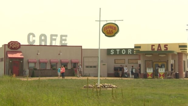 The sets used for the show Corner Gas could get a new life as a tourist attraction for Rouleau, the town that doubles at Dog River.