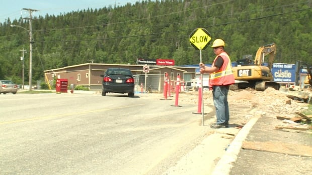 Construction on O'Connell Drive is causing traffic headaches in Corner Brook.
