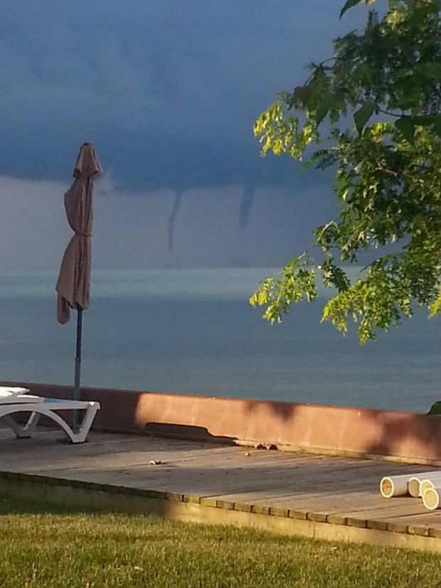 Waterspout warning