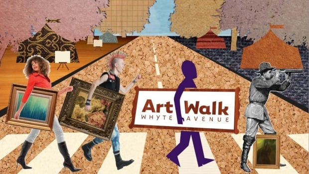 Art Walk will kick on Friday along Whyte Avenue in Old Strathcona. More than 450 artists' work will be on display and up for sale this year.