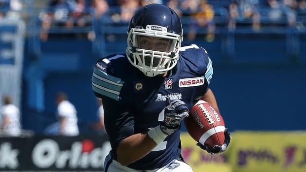 Argos halfback Anthony Coombs will get his first CFL start Saturday against the visiting Calgary Stampeders. He ran for 52 yards on six carries, added a 17-yard reception and blocked effectively in pass protection in relief of the injured Andre Durie in last week's 48-15 win over Saskatchewan.