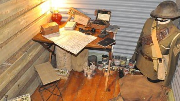 A collection of unique artifacts from the First World War are on display at the Park House Museum in Amherstburg.
