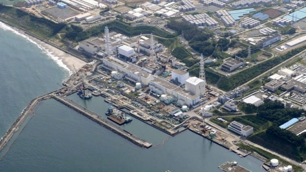 At the Fukushima Dai-ichi nuclear plant in northeastern Japan, hundreds of huge blue and gray tanks store radioactive water used to prevent the crippled plant's damaged reactors from overheating.