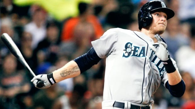 Mariners outfielder Michael Saunders was placed on the 15-day disabled list Friday after suffering a grade two strain of his left oblique (rib cage) muscle on a check swing. The Victoria native spent time on the DL in June with a shoulder injury.
