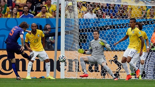 Brazil takes on the Netherlands in the third-place game at the FIFA World Cup on Saturday.